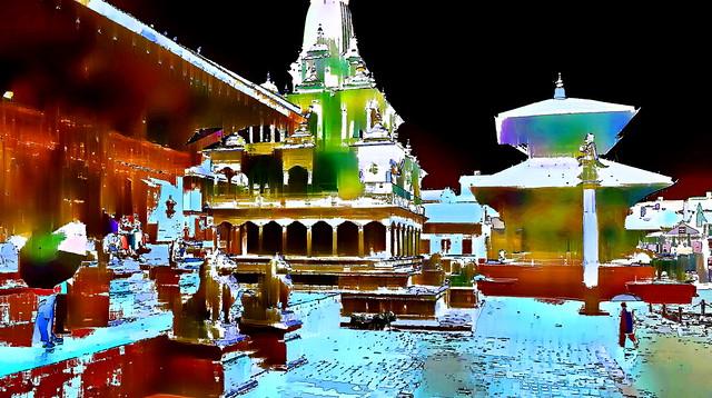 Nepal - Patan - Durbar Square - 100f