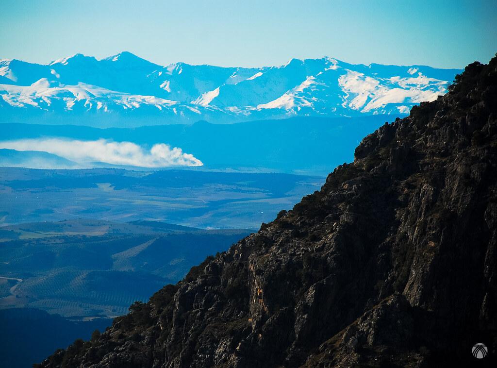 Y al sur, Sierra Nevada fulgurante