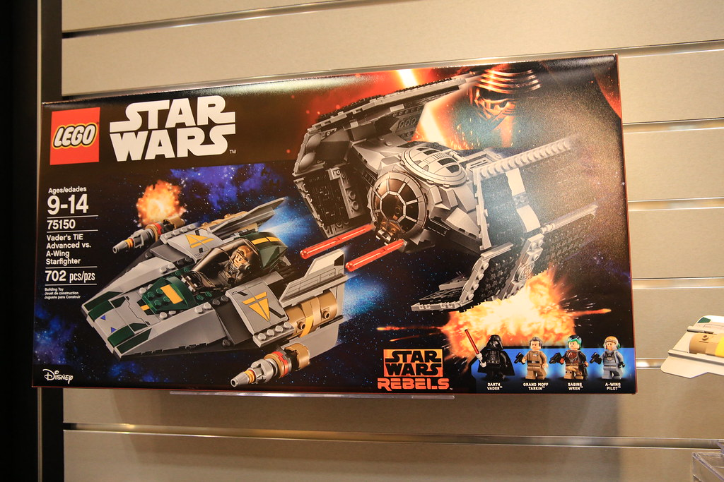 75150 new Lego Star Wars Rebels Vader/'s TIE vs A-Wing Starfighter 702 Pcs.
