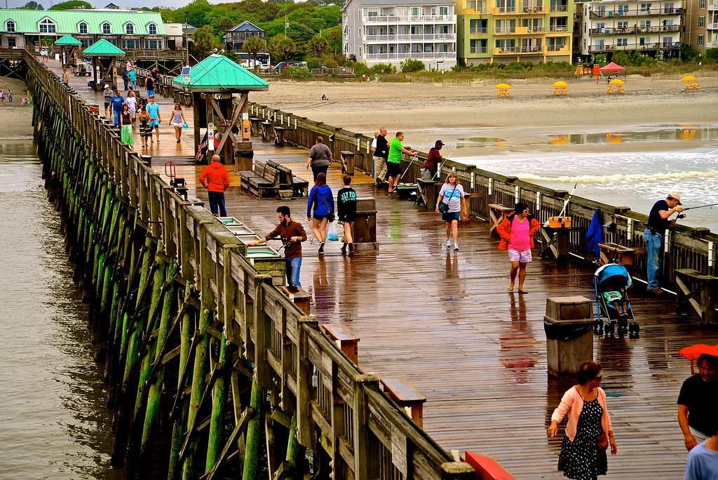 Folly Beach Pier - Folly Beach SC | Folly Beach is a barrier… | Flickr