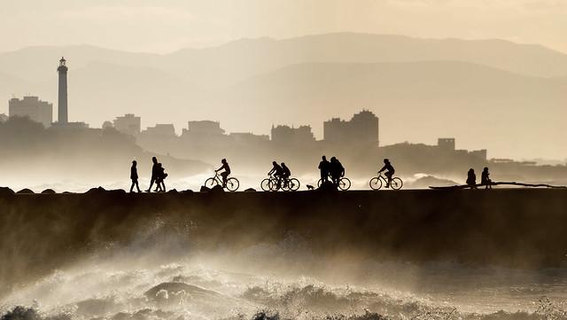 Les Cavaliers à bicyclette.