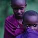 Masai children by FAO of the UN