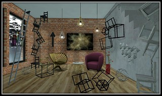 Out with the old 2016- Contemporary Art Galley | by Hidden Gems in Second Life (Interior Designer)