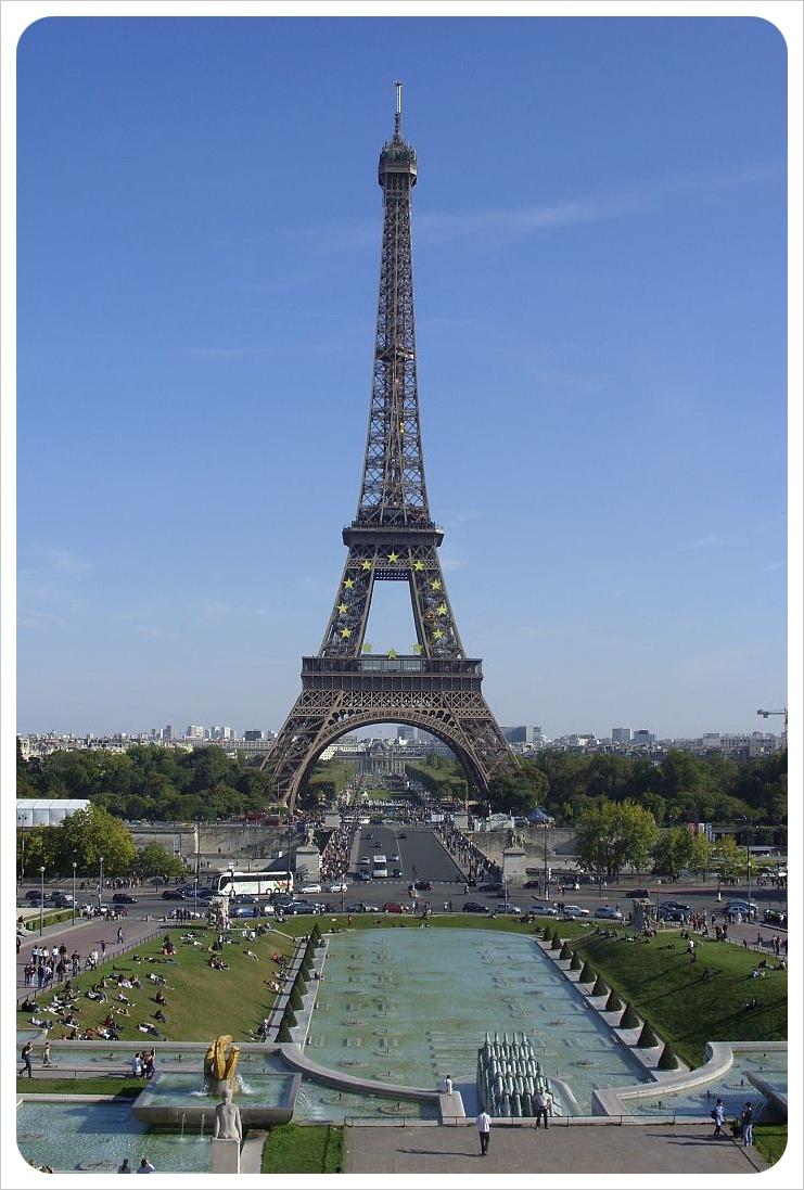Paris itinerary