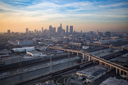dtla downtownlosangeles 6thstbridge 6thstviaduct ©shabdrophoto