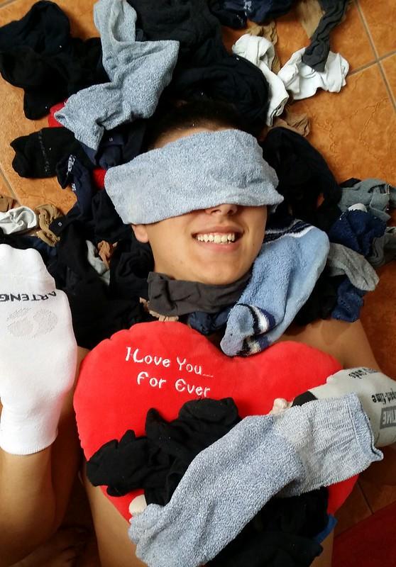 A zoknik kreatív felhasználási módja