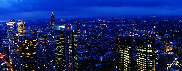 Dark Clouds over Frankfurt