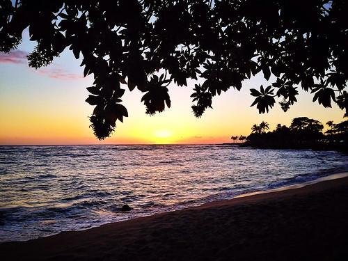 ocean sunset sea beach hawaii pacificocean kauai poipu pacificislands lawaibeach thegardenisland iphonephoto iphoneography skipplittphotography
