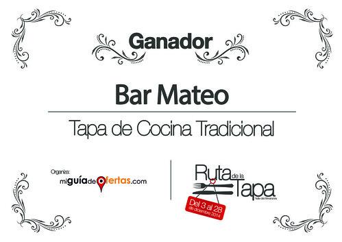 Diploma I Ruta de la Tapa | by alvaro_perez19