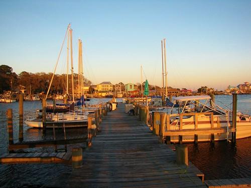 southport northcarolina brunswickcounty yachtbasin marina capefearriver intercoastalwaterway pier dock sailboats gerrydincher nc