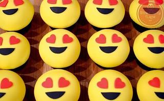 Emoji Birthday Cupcakes