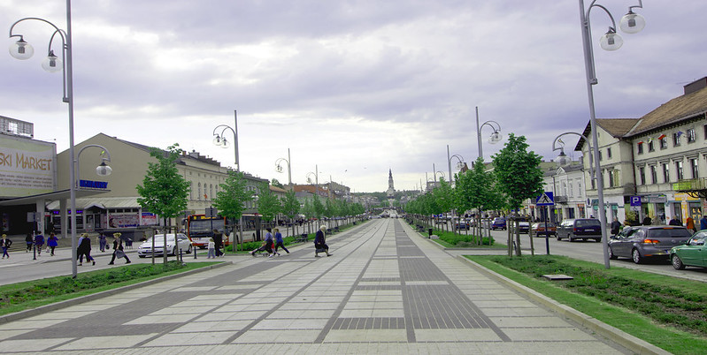 Avenue of the Blessed Virgin Mary in Czestochowa