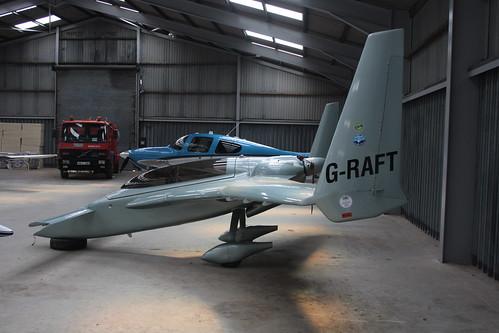 G-RAFT Rutan Long-Ez [PFA 074A-10734] Turweston