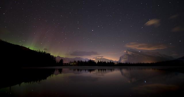Mt. Rundle's Aurora