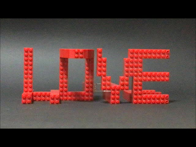 LOVE and HATE (an homage to Shigeo Fukuda)