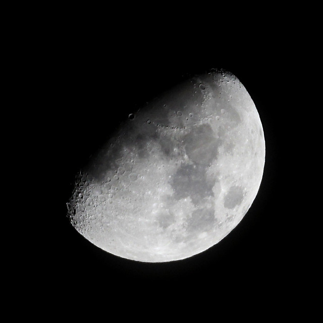 One day past half moon