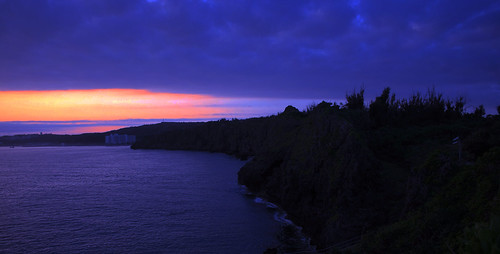 sunrise 沖繩 真栄田岬