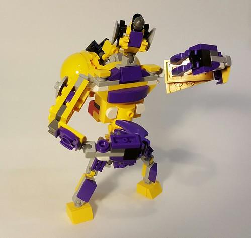 Lego Mixel Moc, Series 7, Simechian.