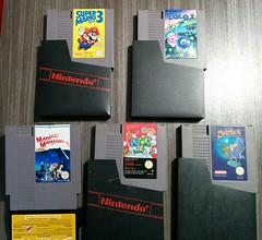 Retro Gaming - Games. First inventory on Feb/2016