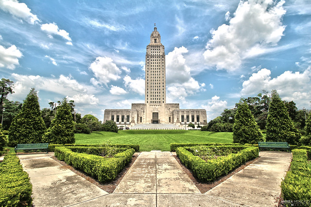 Louisiana State Capitol - Baton Rouge, Louisiana