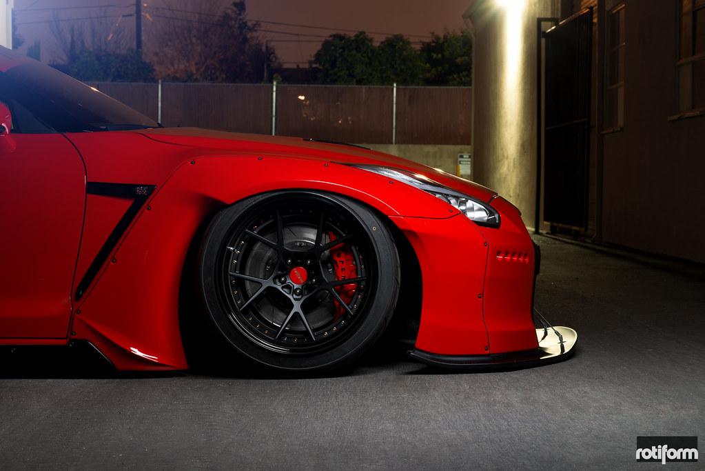 Rocket Bunny Pandem Aero - Nissan GTR - Rotiform KPS | Flickr