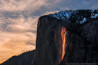 """Horsetail """"firefall"""" 2016 