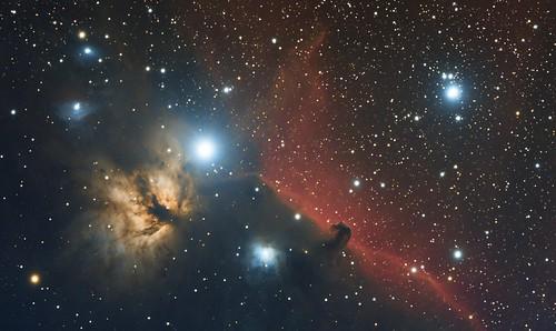 astrometrydotnet:id=nova1455871 astrometrydotnet:status=solved astro astrophotography horsehead paardenkop paardekop paardenhoofd paardehoofd nevel nebel nebula halpha ha space universe public domain
