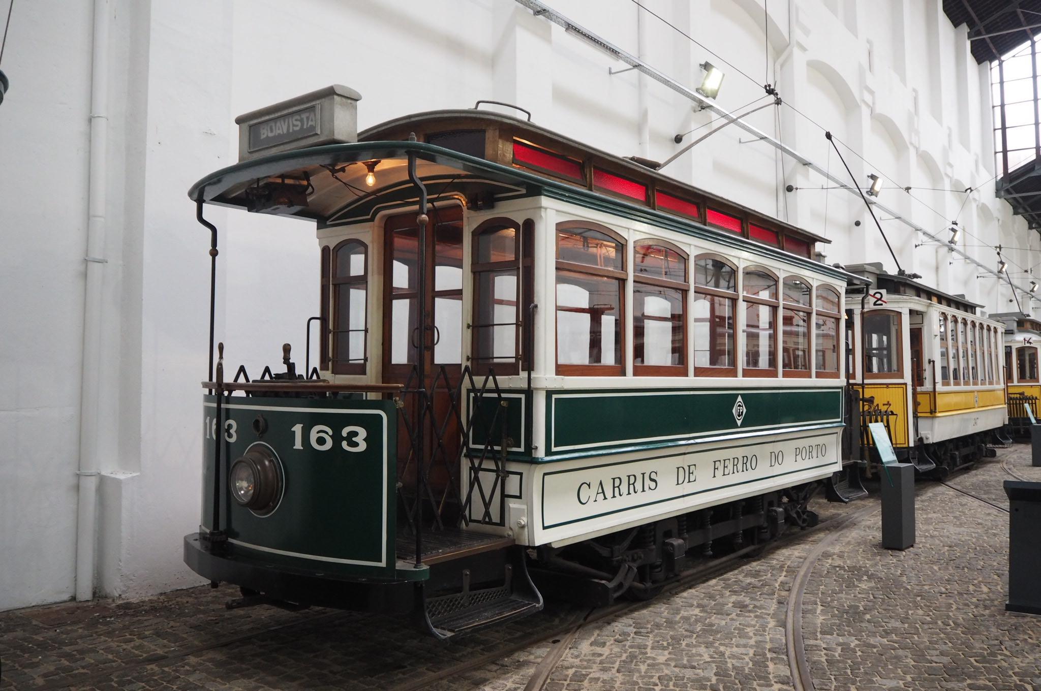 Tram 163, Porto Tram Museum