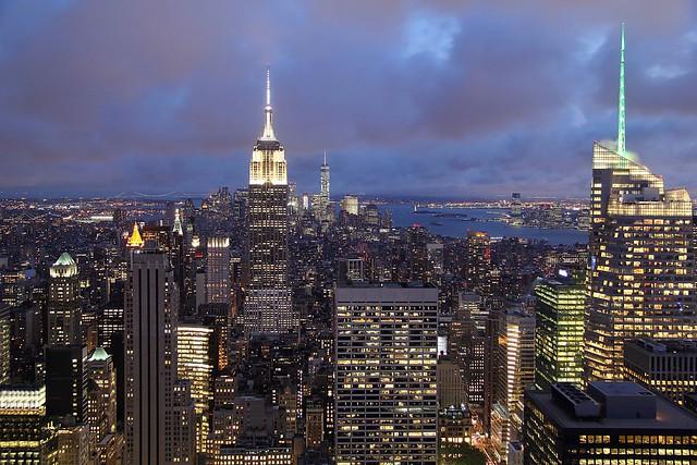 Gotham City im Glitzerlicht