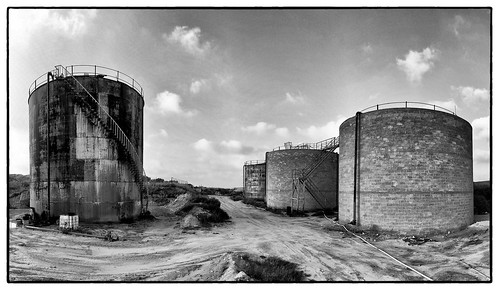 old oil silo | by Yoni Lerner