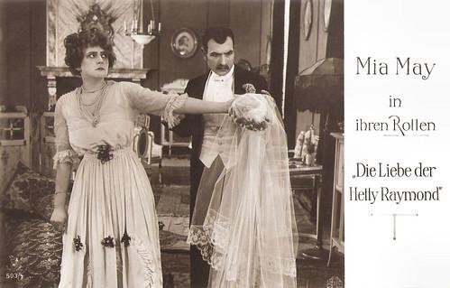 Mia May in Die Liebe der Hetty Raymond (1917)