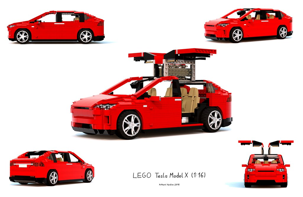 Lego Tesla Model X 116 Update2 I Also Enabled The Pos Flickr