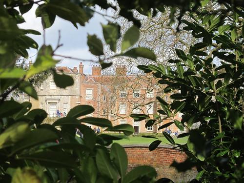 Mottisfont Abbey, from street outside grounds SWC Walk 58 Mottisfont and Dunbridge to Romsey taken by Karen C.