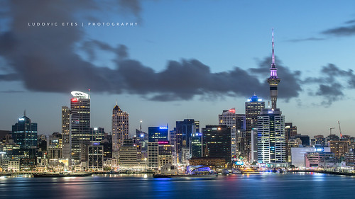 new city sunset night canon auckland zealand 2470mm 5d3 5dmarkiii