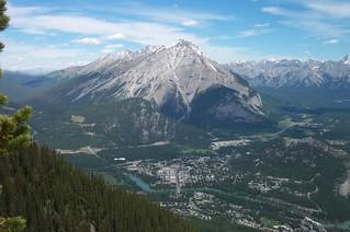 View off Sulfur Mountain, Banff