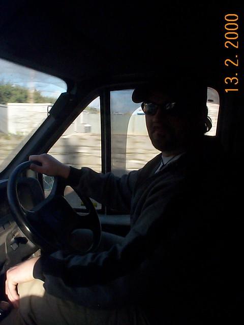 The Bro driving the van