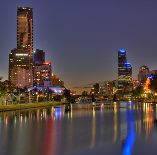 Melbourne City by the Yarra | by Andrew Hux