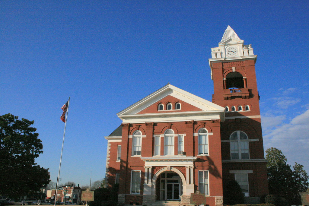 Butts County Courthouse, Jackson GA