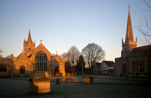 morning winter light sunset england tower english church abbey st parish sunrise geotagged town december all towers saints vale worcestershire precinct cotswold evesham lawrences colorphotoaward geo:lat=52091294 geo:lon=1948013