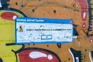 Internet Explorer Error Message tagged | by Andreas Solberg