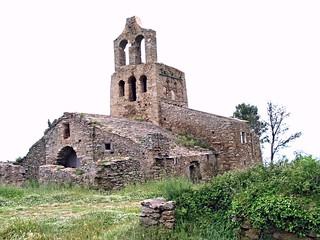 The Dark Ages in Spain, Church of Santa Elena.