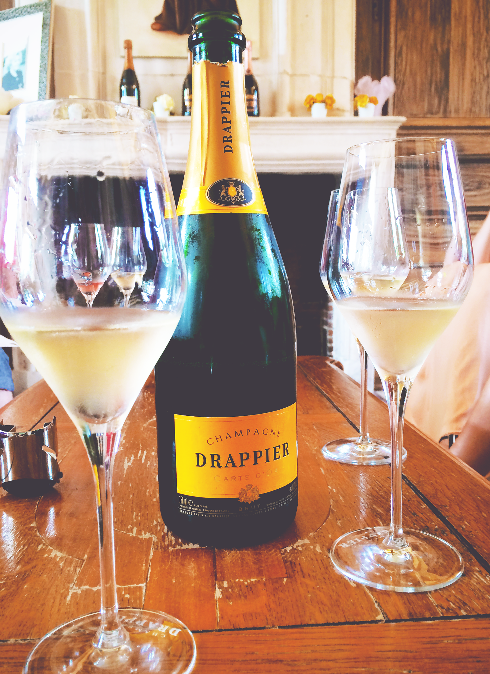 Champagnehuis 'Drappier' in Frankrijk | via It's Travel O'Clock