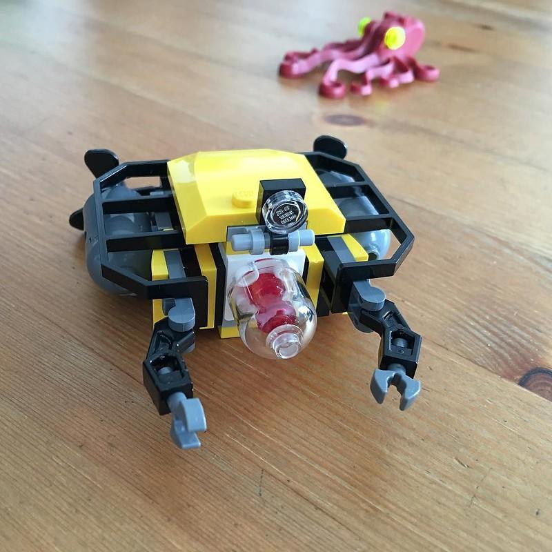 Tiefsee Taucher unterwegs bei meinem Neffen am LEGO spielen #pokipsie365 #pokipsieBrick