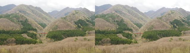 Oku-nikkawa, 4K UHD, stereo parallel view