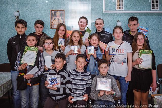 """17 апреля 2016. Пасхальный конкурс """"Брейн-ринг"""""""