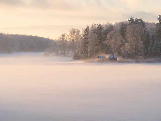 Russian winter days