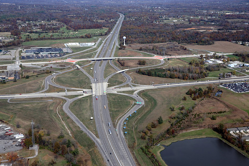I-57 Diverging Diamond Interchange | by Illinois Department of Transportation