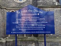 St John the Divine Shaped Folded Tray