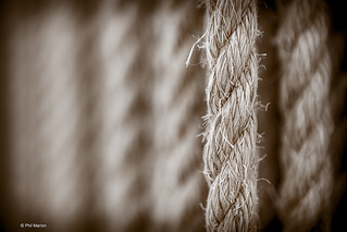 Rope detail of Floating Ropes lifeguard station - Kew Beach, Toronto | by Phil Marion (177 million views - THANKS)
