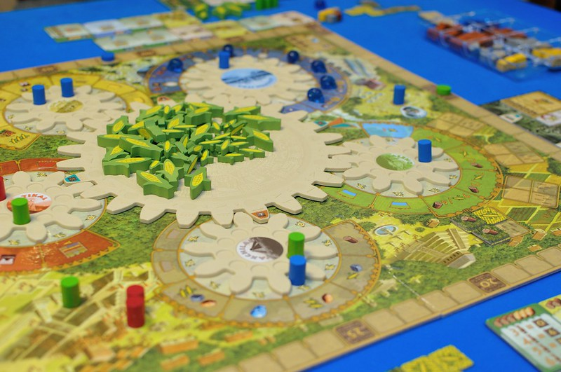 Best Farming Board Games Tzolk'in Expansion